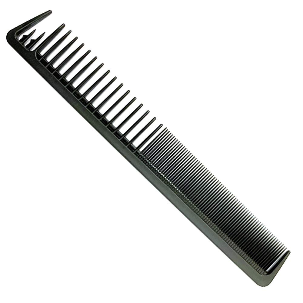 "Carbon Fiber Cutting Comb, Professional 8.19"" Hair Dressing Comb, Anti Static Heat Resistant Comb For All Hair Types, Fine and Wide Tooth Hair Barber Comb"
