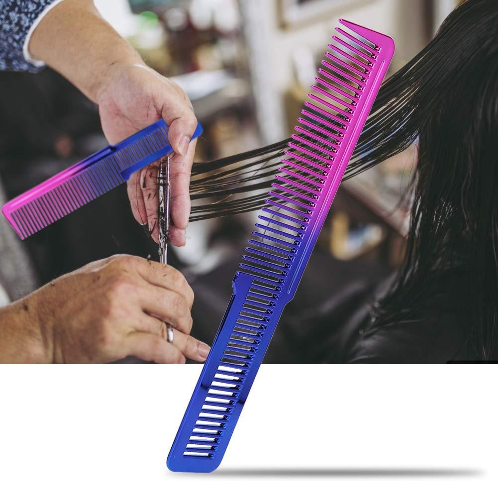 hongxinq Gradient Comb Hair Styling Hairdresser Hair Cutting Hairdressing Styling Tool