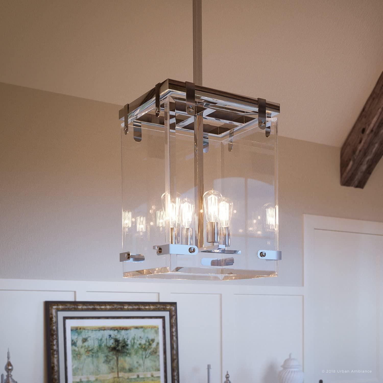 Luxury Modern Farmhouse Pendant Light, Medium Size: 28.375