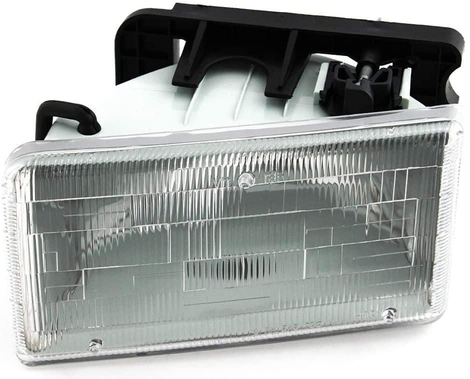 For Dodge Dakota Headlight 1991 1992 1993 1994 1995 1996 Driver Left Side Headlamp Assembly Replacement