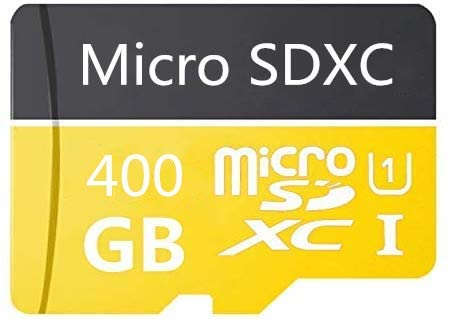 400GB Micro SD Card High Speed Class 10 SDXC with Free SD Adapter, Designed for Android Smartphones, Tablets and Other Compatible Devices (400GB)