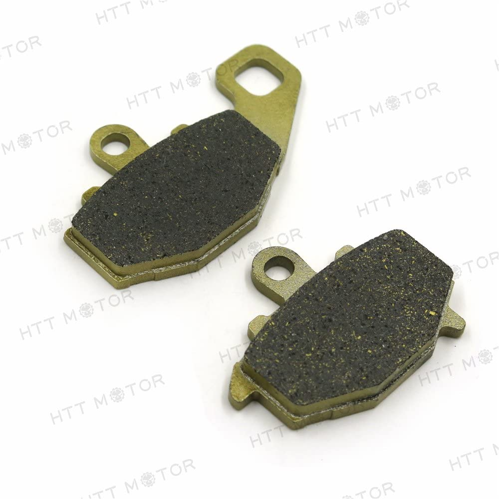 HTTMT BPFA192- Disc Brake Pad Set Rear Compatible with KAWASAKI ROAD BIKE ZR ZX 6R 6RR 1000 Ninja