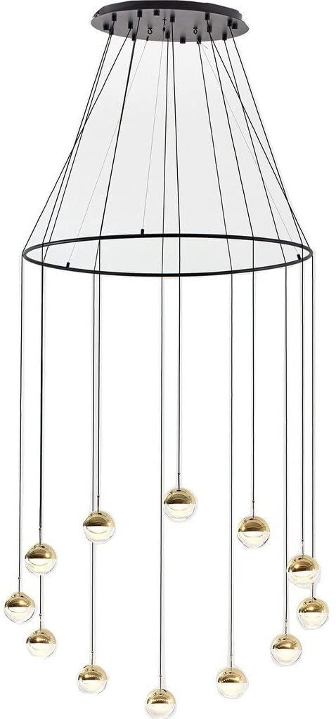 Seed Design Dora Pendant 12-Light Set with Ring   Copper