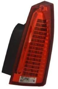 Go-Parts - for 2009 - 2014 Cadillac CTS Tail Light Rear Lamp Assembly Replacement - Right (Passenger) (CAPA Certified) 22806054 GM2801225C Replacement 2010 2011 2012 2013