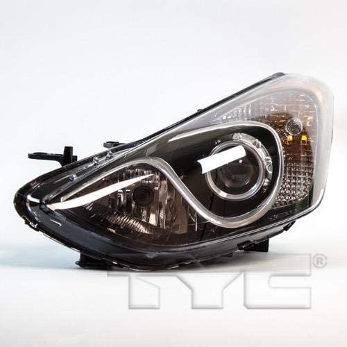 Go-Parts - for 2013 - 2014 Hyundai Elantra GT Front Headlight Assembly Housing / Lens / Cover - Left (Driver) 92101-A5050 HY2502173 Replacement