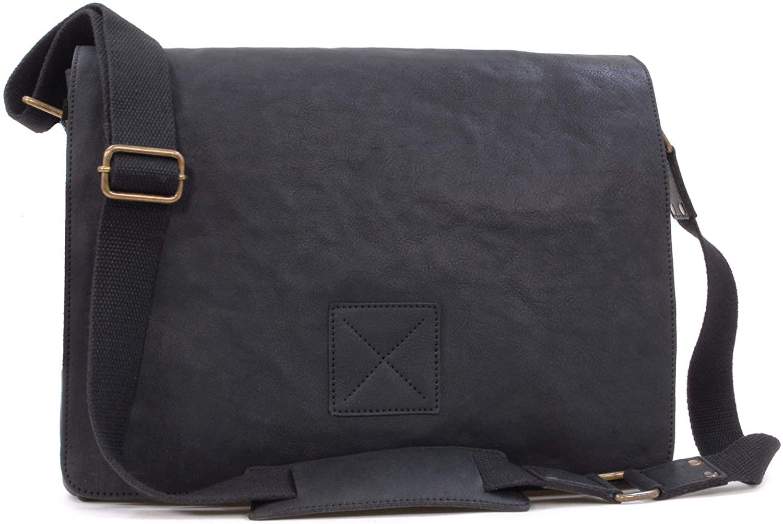 Ashwood Messenger Bag - Cross Body/Shoulder/Laptop Bag - Business Office Work Bag - Genuine Leather - PEDRO