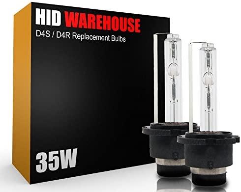 HID-Warehouse HID Xenon Replacement Bulbs - D4S / D4R / D4C - 8000K Medium Blue (1 Pair)