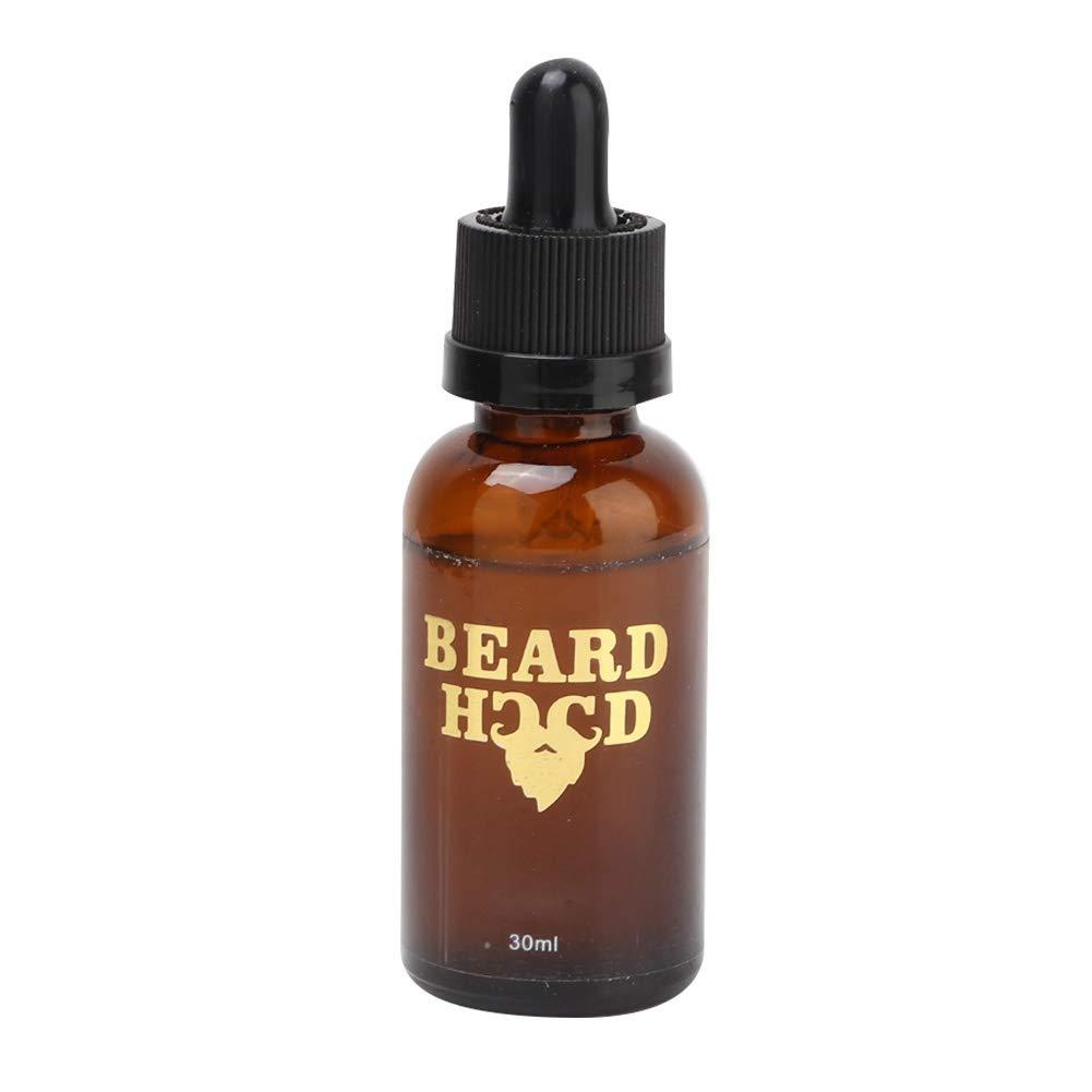 Beard Grooming Essential Oil Moustache Enhancer, 30g Men Beard Oil Beard Growth Soft Moisturizing Balm Beard Care Serum