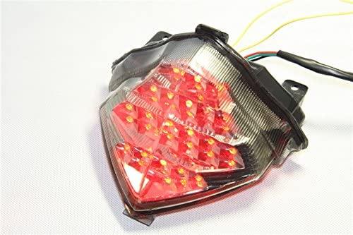 XKMT-Led Tail Brake Light Turn Signals Compatible With Yamaha Yzf R1 Yzfr1 Yzf-R1 2004-2006 Smoke [B00YWCJCBU]