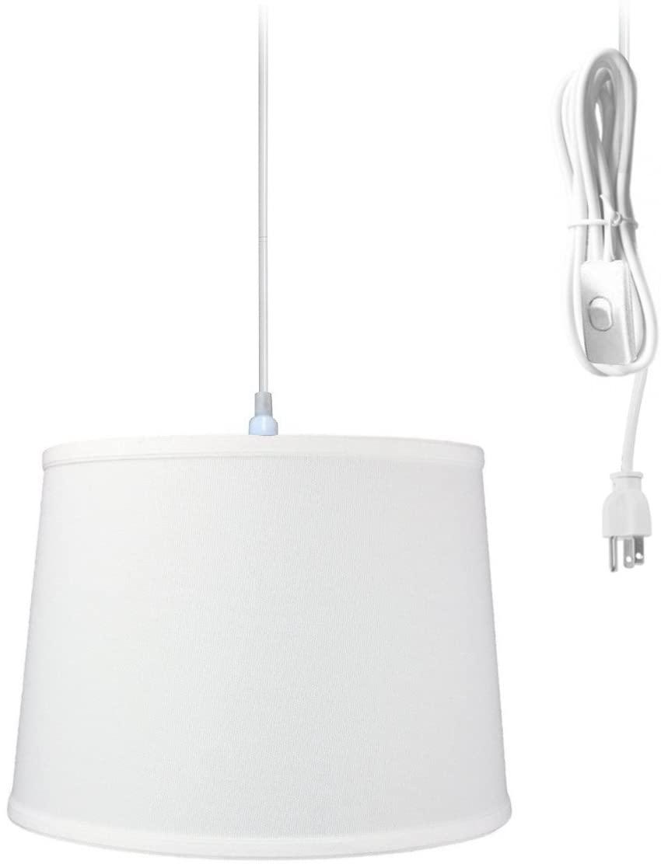 1 Light Swag Plug-in Pendant 14