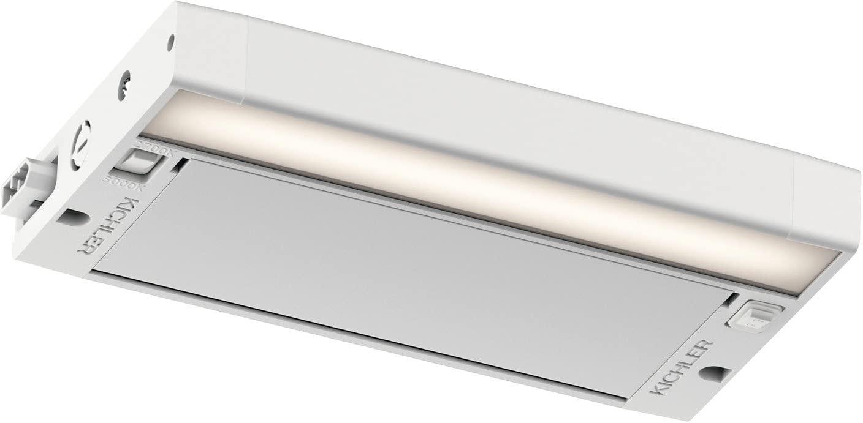 Kichler 6UCSK08WHT 6U Series Under Cabinet, 1 Light LED, Textured White