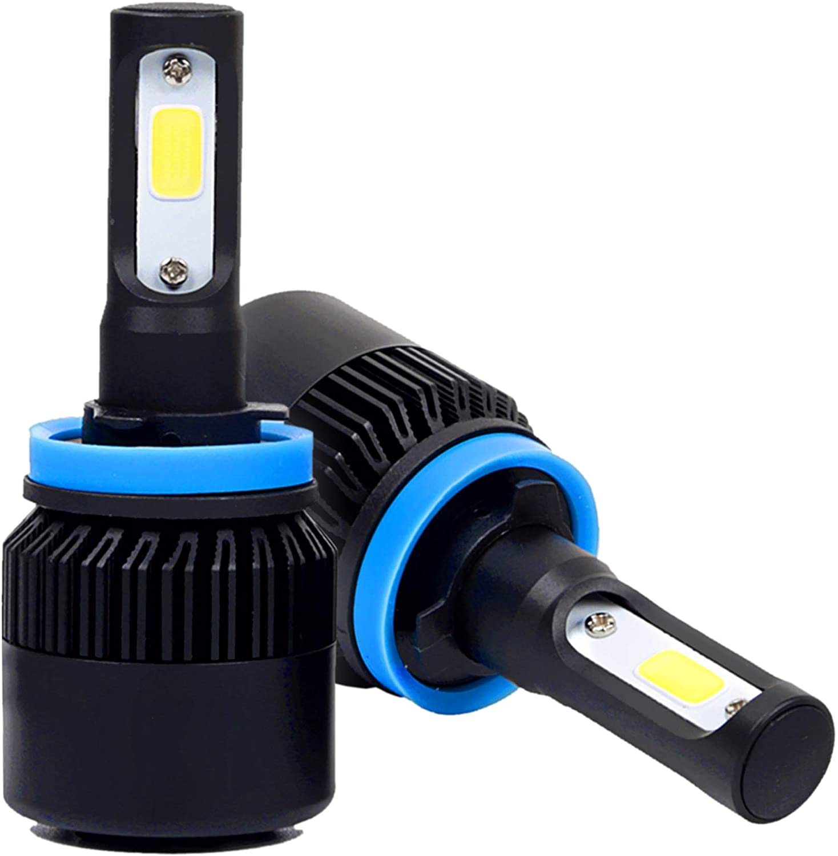 Stark Industries H8/H9/H11 Phantom Series 72W LED Headlights Conversion Kit 6000K White IP68 Waterproof