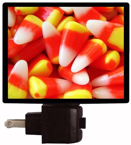 Halloween Night Light, Candy Corn, Trick or Treat Candy LED Night Light