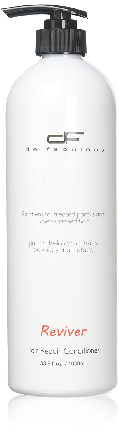 De Fabulous Reviver Hair Repair Conditioner Vitamin Enriched Therapy, 33.8 Ounce