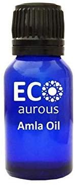 Amla Oil (Indian Gooseberry)100% Natural, Organic, Vegan & Cruelty Free Amla Essential Oil | Pure Amla Oil By Eco Aurous (0.33 oz, 10 ml)