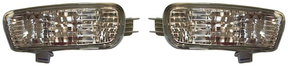 KarParts360: For 2001 2002 2003 2004 TOYOTA TACOMA Signal Light Assembly Pair Driver and Passenger Side w/Bulbs Replaces TO2530140 TO2531140