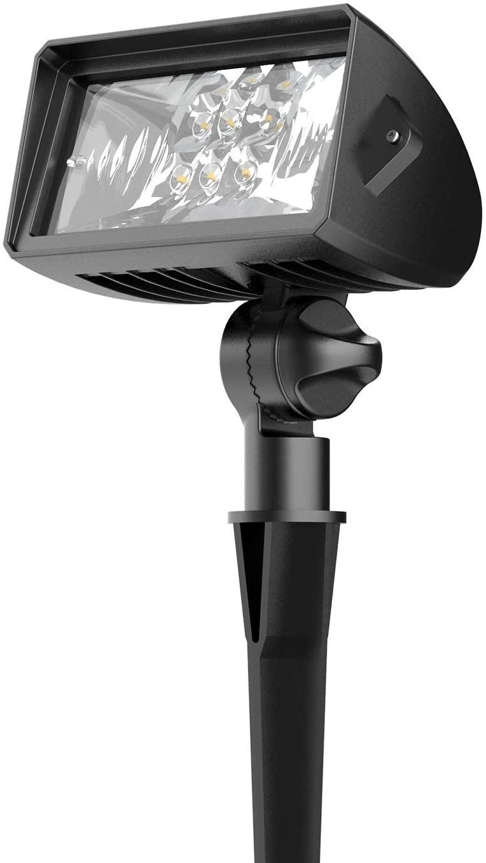 Malibu LED Low Voltage Wall Wash Light 18 Watt Weatherproof Floodlight Outdoor Landscape Lighting 600 Lumen Garden Lights (1 Pack)
