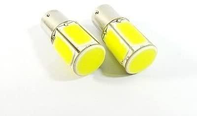 LEDIN 2x COB LED Brake Light 18W High Power 1156 7506 P21W BA15s Bulb