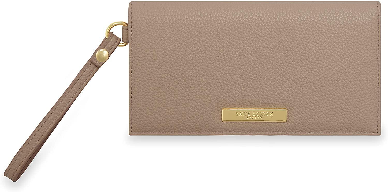 Katie Loxton Cleo Womens Soft Pebble Vegan Leather Wallet Purse Wristlet