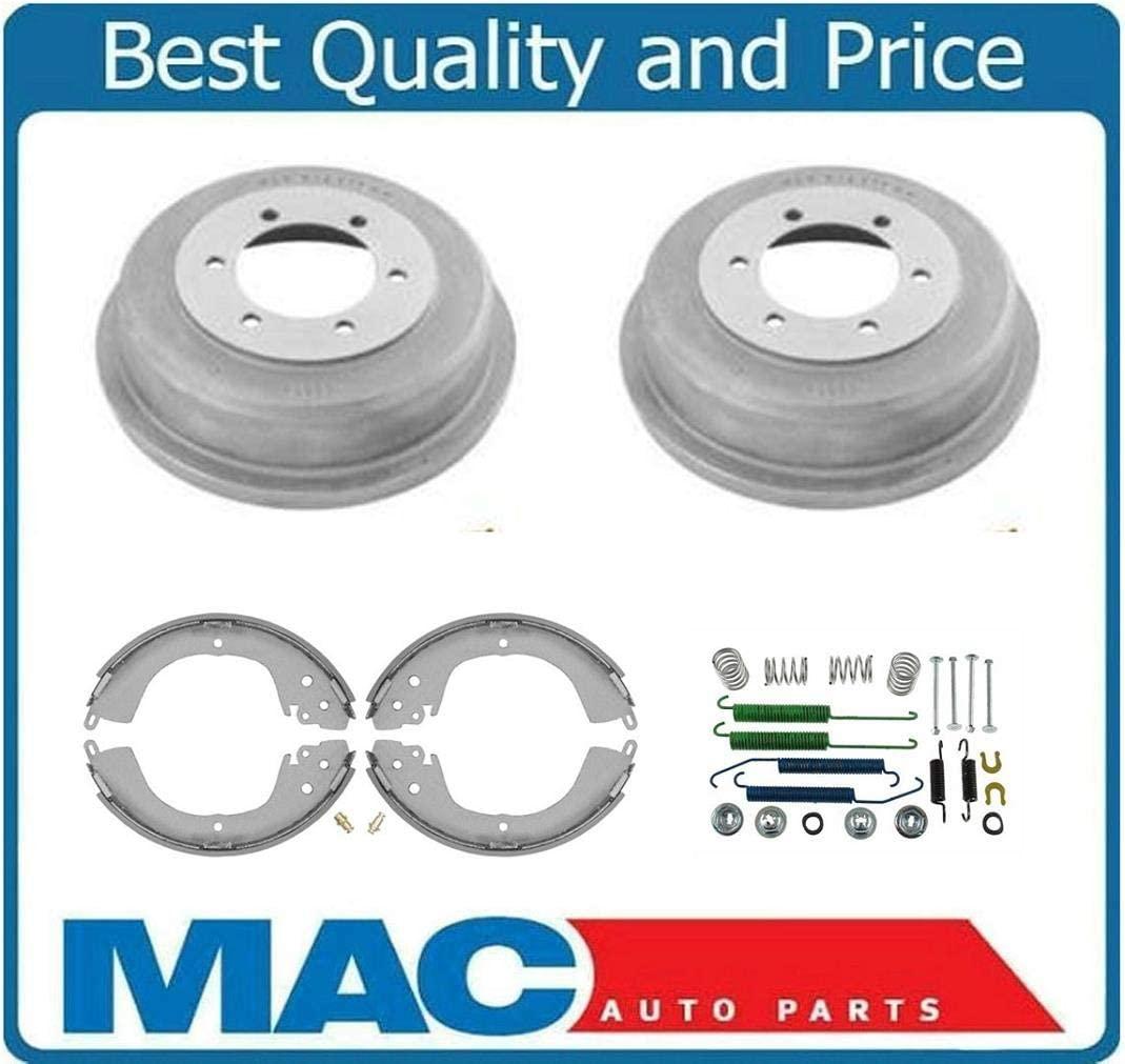 Mac Auto Parts 39353 Mitsubishi Montero Sport (2) Rear Brake Drums & Shoes & Brake Springs