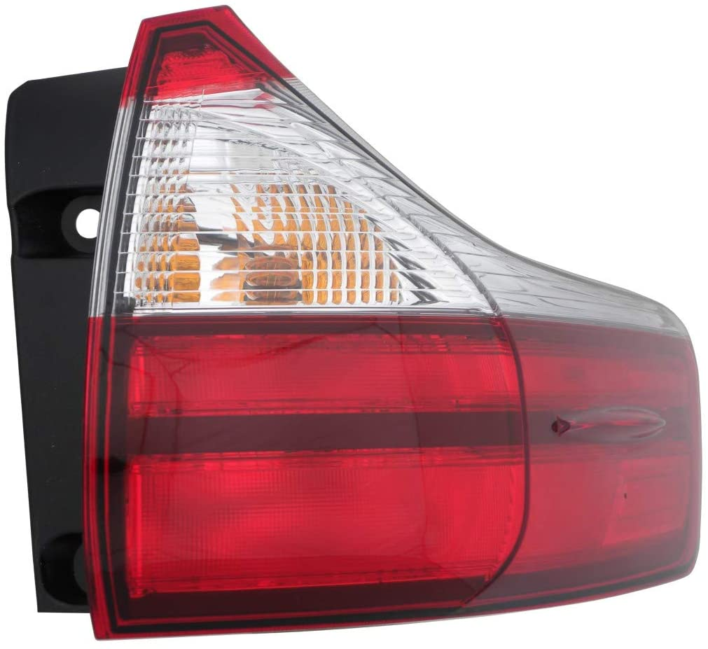 For 2015-2017 Toyota Sienna Rear Tail Light Passenger Side TO2805123 L|LE|XLE|LIMITED - replaces 81550-08050