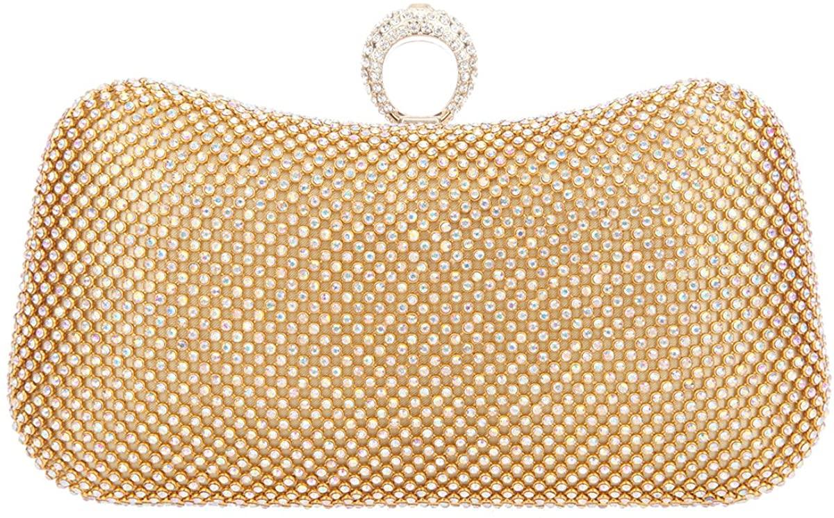 Fawziya Rhinestone Evening Bag Party Purses For Women Clutch Handbags