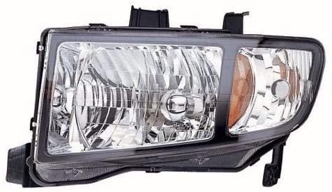Go-Parts - for 2006 - 2008 Honda Ridgeline Front Headlight Assembly Housing / Lens / Cover - Left (Driver) Side 33151SJCA02 HO2502128 Replacement 2007