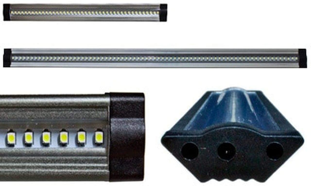 Brilliant 24 Volt Under Cabinet LED Light Bar - Corner Mount - 12
