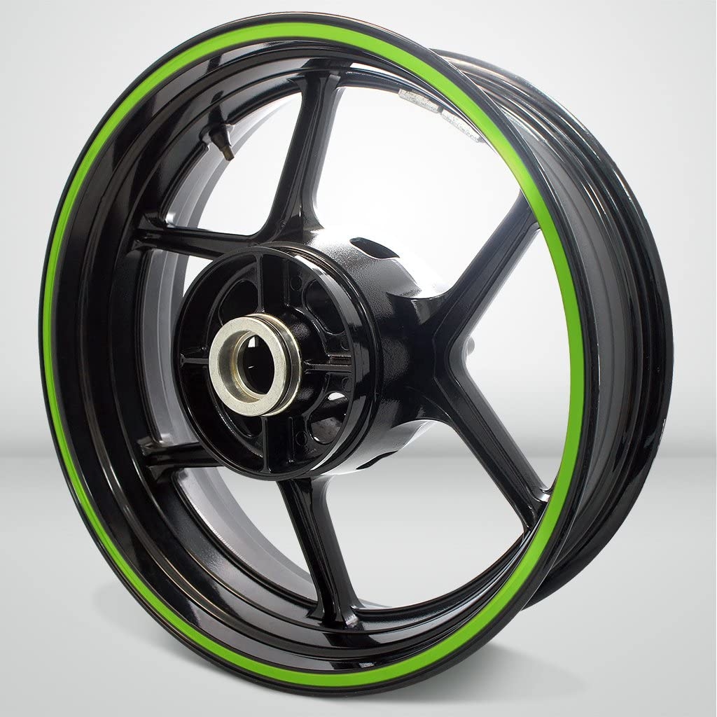 Thick Outer Rim Liner Stripe for Suzuki SV650 Matte Green
