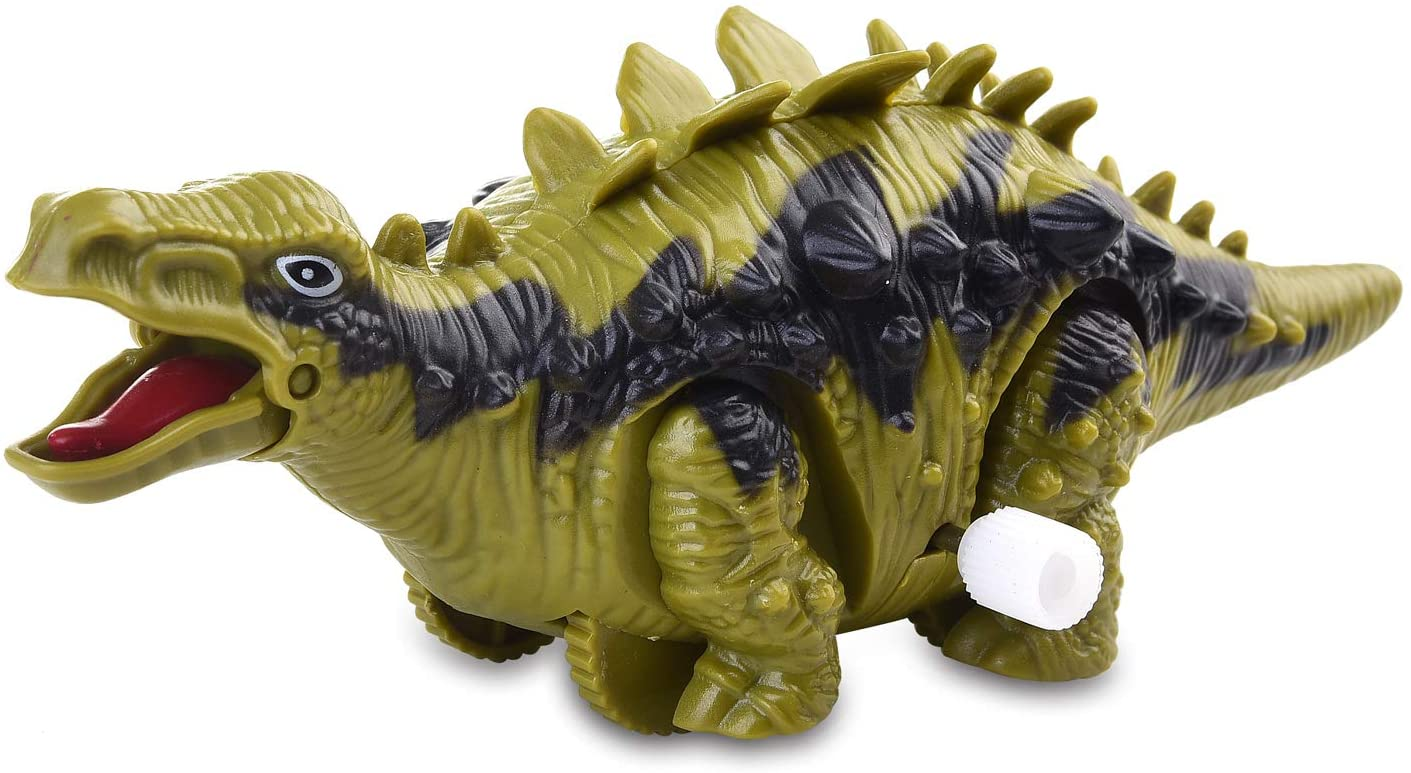 XQW Dinosaur Toy Figure,Dinosaur Toddlers Toy for Dinosaur Lovers - Perfect Dinosaur Party Favors, Birthday Gifts, Dinosaur Toys,for Kids, Boys and Girls (Stegosaurus)