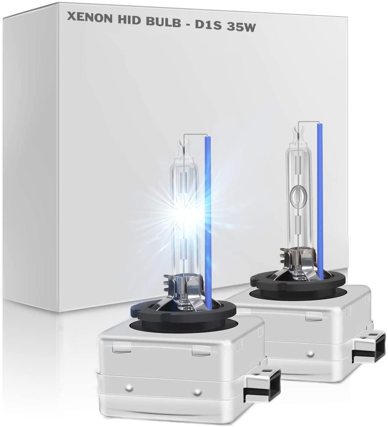 O-NEX XENON D1S 6000K HID Headlight bulbs DOT Standard OEM 66140 66144 85410 85415 Replacement, Pack of 2