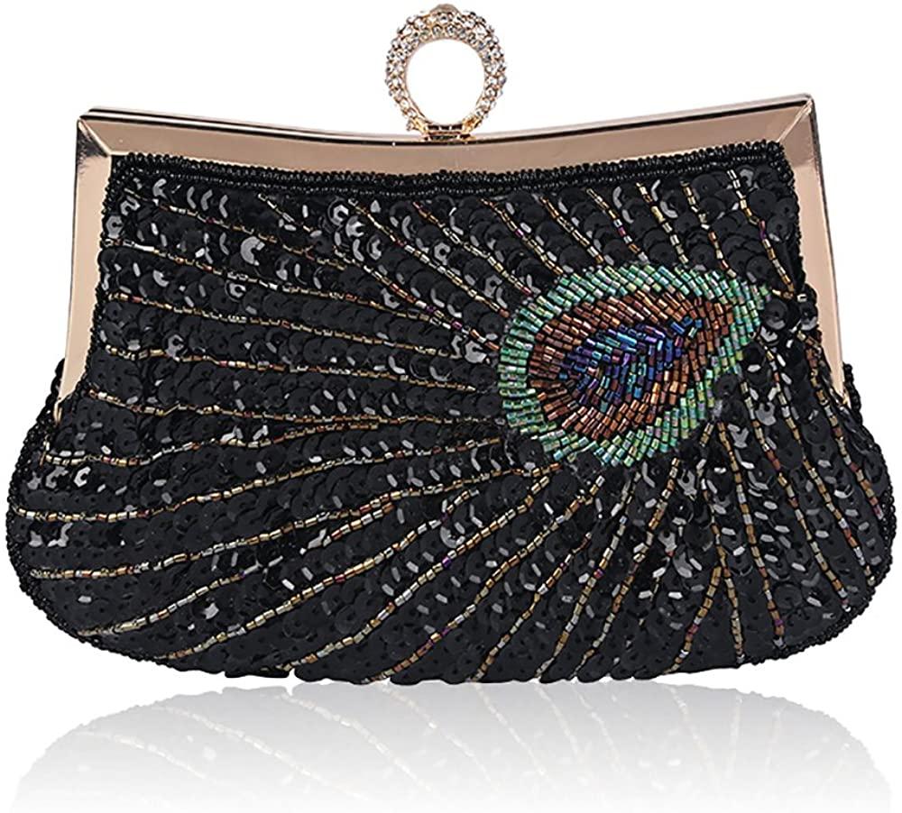 Magibag Sequin Cosmetic Bag Shoudler Bag Glitter Handbag Bling Evening Party Clutch Purse Wallet