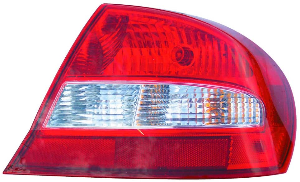 JP Auto Outer Tail Light Compatible With Dodge Sebring 2003 2004 2005 Passenger Right Side Taillamp