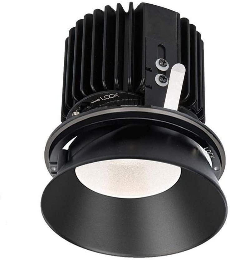 WAC Lighting R4RD2L-S840-BK Volta - 6.39