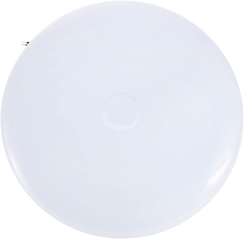 papasbox LED UFO Ceiling Light, 50W Cold White 6000-6500K, 3240LM, SMD 2835, Suitable for Kitchen, Bedroom, Garage, Office, Basement, Corridor and Other Ceiling Lighting Applications