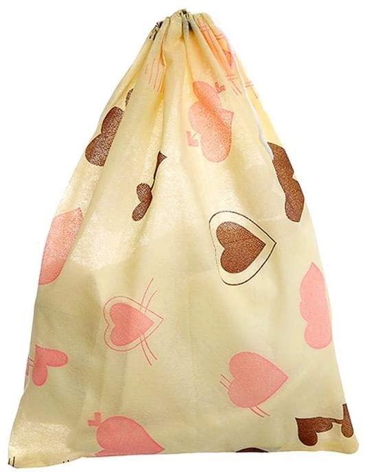 VIFERR Dustproof Bag, Breathable Dustproof Shoes Bag Holder Home Travel Portable Shoe Organizer 2 Pcs (Color : #1)