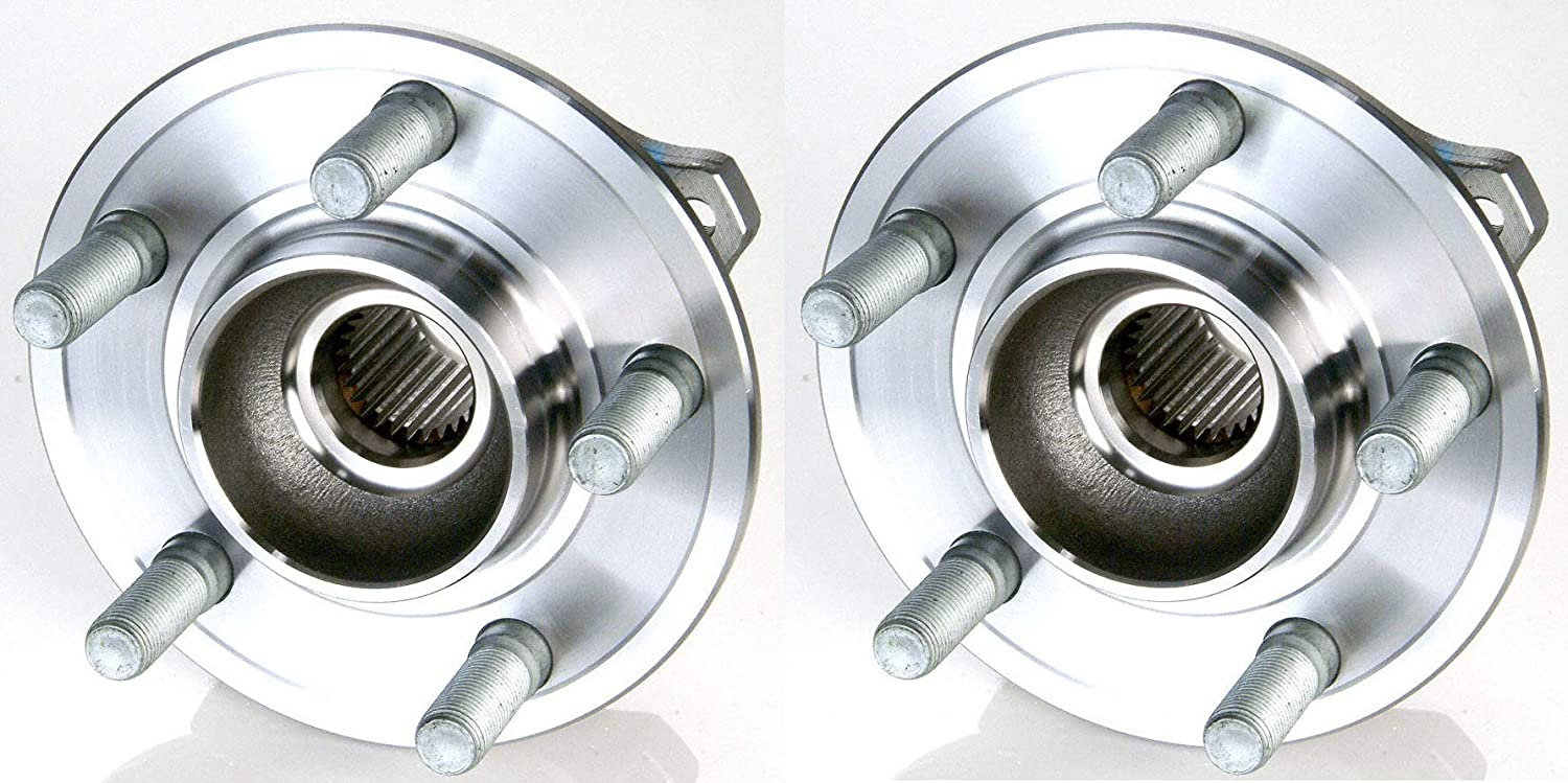 Stirling - 2015 for Nissan Juke (NOTE: AWD) Rear Premium Quality Wheel Bearing and Hub Assembly Pair (Two Bearings Included for Left and Right Sides, HA590408) - One Year Warranty