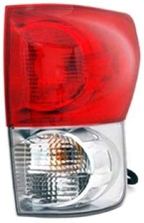 Go-Parts - for 2007 - 2009 Toyota Tundra Pickup Rear Tail Light Lamp Assembly / Lens / Cover - Right (Passenger) 81550-0C070 TO2801165 Replacement 2008