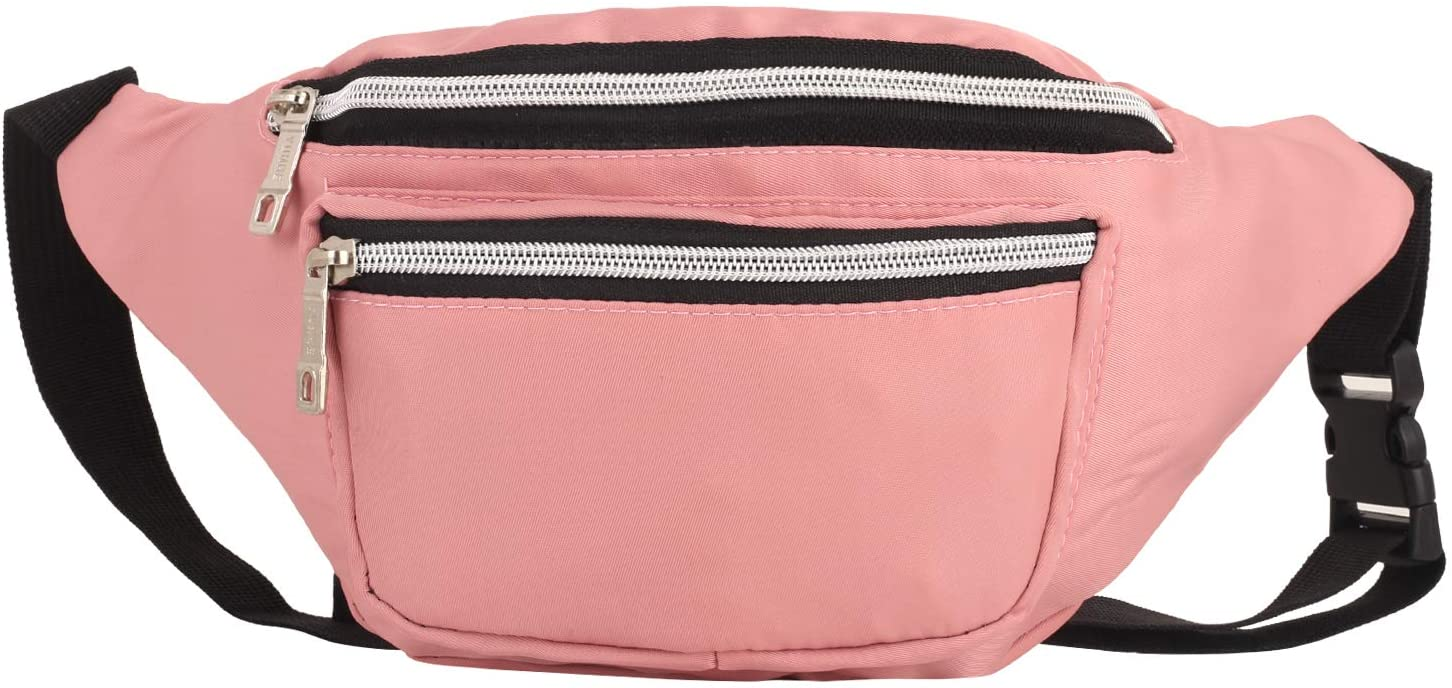 YUNHE Fanny Pack for Men & Women, Fashion Waist Packs with Adjustable Belt, Casual Bag Bum Bags for Travel Sports Running