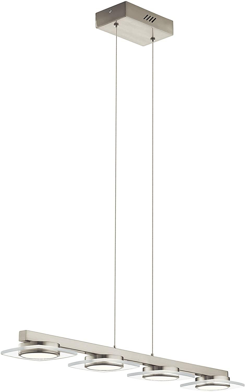 Elan 83945 Pendant Lighting, Brushed Nickel
