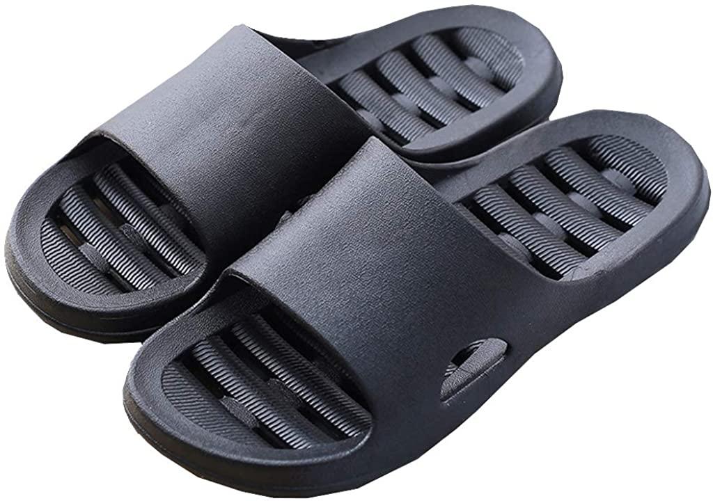 zisheng Shower Sandal Slippers Drainage Holes Quick Dry Bathroom Gym