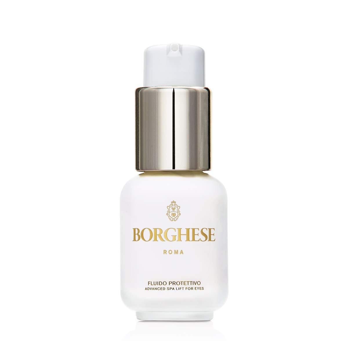 Borghese Fluido Protettivo Advanced Eye Lift Creme, Eye Cream for Dark Circles and Puffiness, 1 fl. oz.