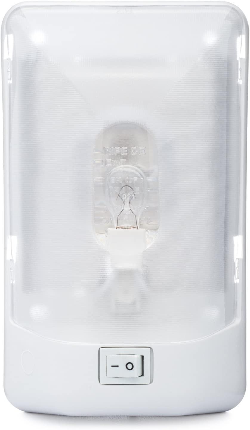 Lumitronics RV Euro-Style Interior Ceiling Dome Light (Single)