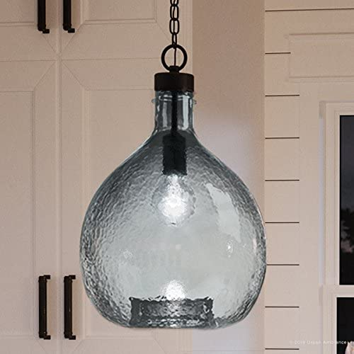 Luxury Modern Farmhouse Pendant Light, Medium Size: 20.375