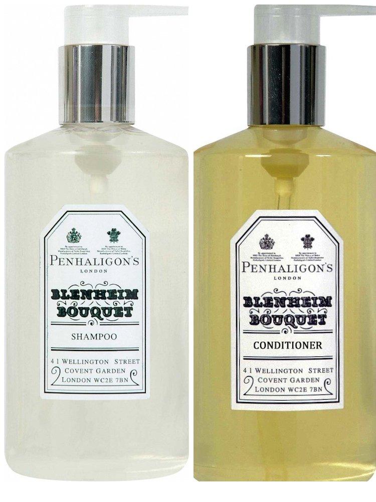 Penhaligon's of London Blenheim Bouquet Shampoo and Hair Conditioner - 10.14 Fluid Ounces/300 mL - 1 Bottle of Each