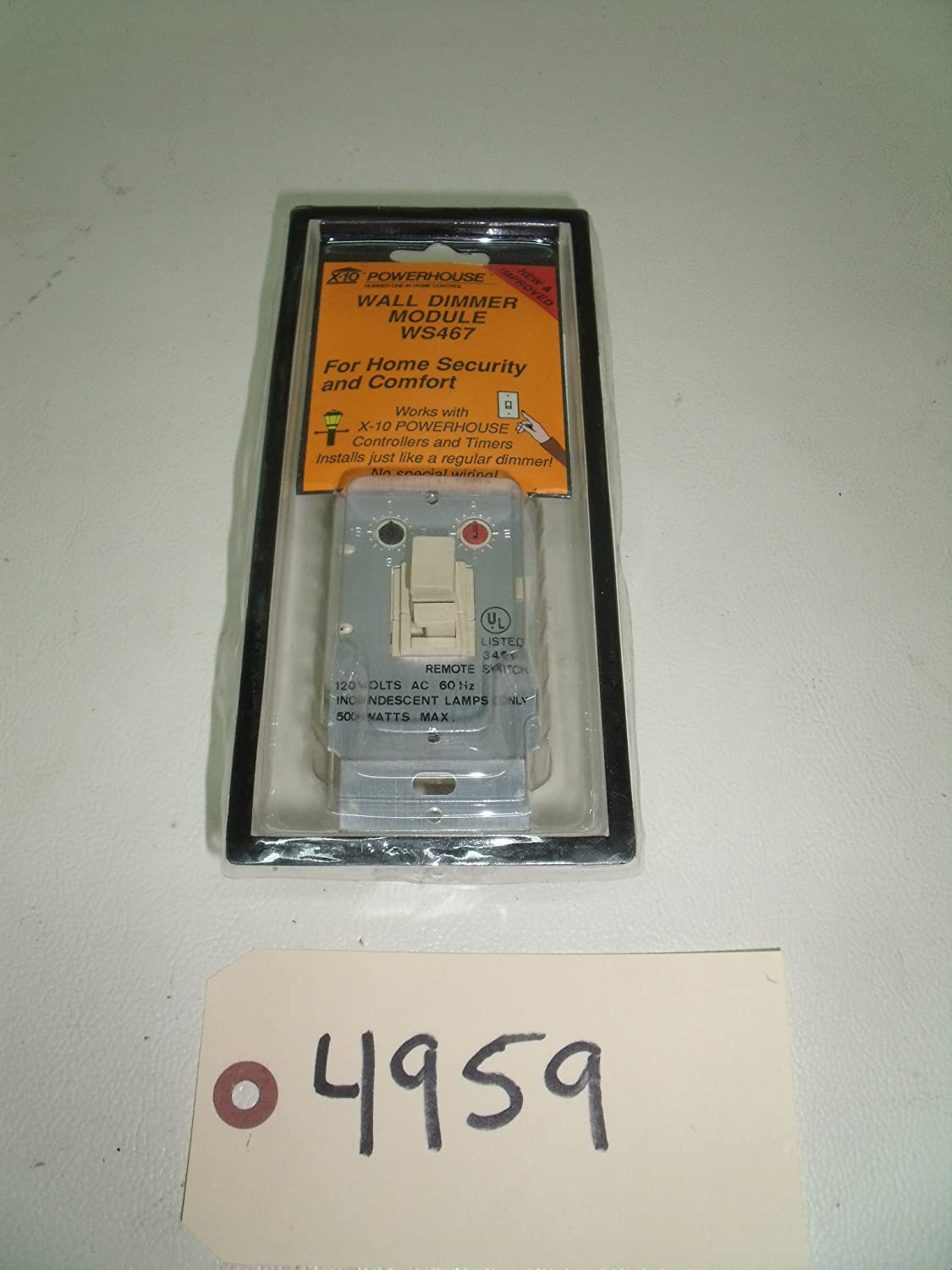 X10 Dimmer Wall Switch (WS467)