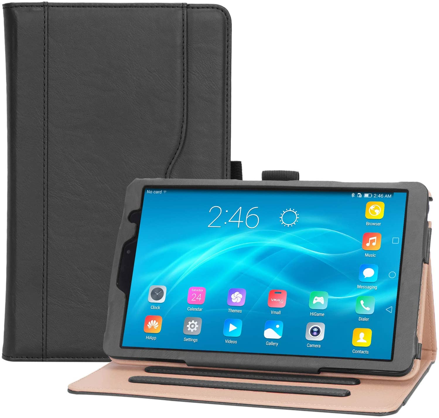 ProCase Galaxy Tab A 8 2019 Case P200 P205- Stand Folio Case Cover for Galaxy Tab A with S Pen 8.0
