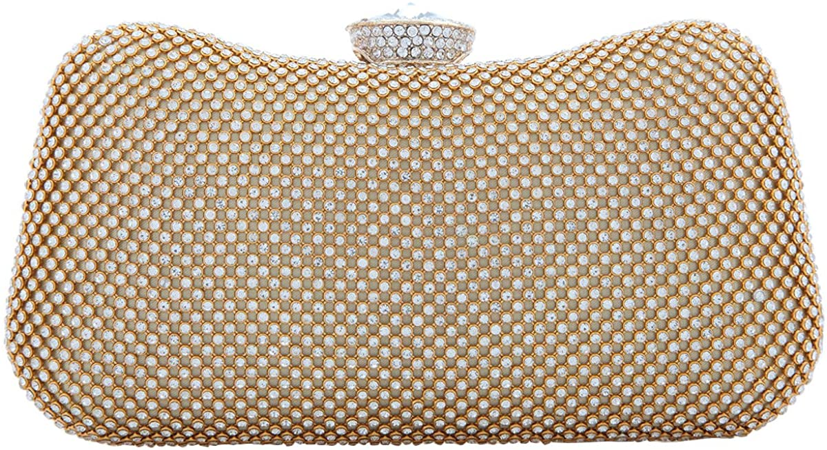 Fawziya Crystal Clutch Bags For Womens Evening Bags And Purse