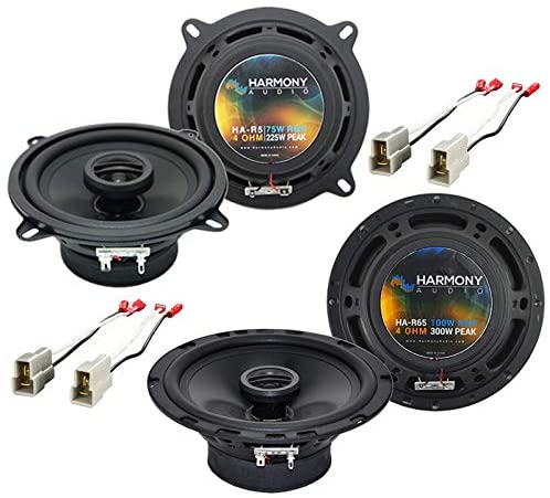 Harmony Audio R5 R65 Factory Speaker Replacement Upgrade Package Compatible with Kia Sportage 1995-2003