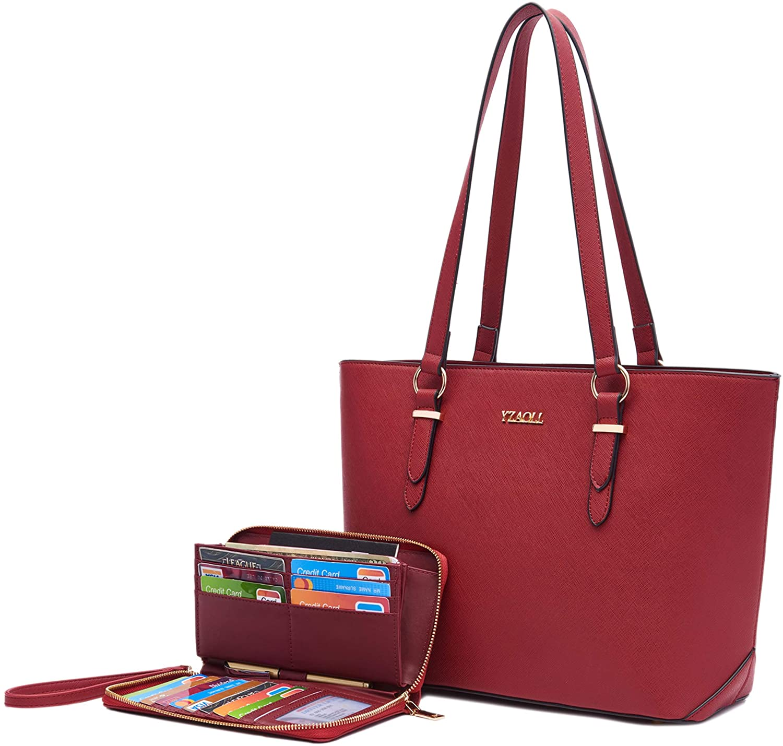 Purses and Handbags for Women Work Tote Bag Shoulder Top Handle Satchel Wallet